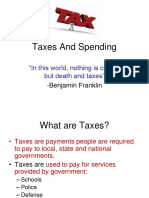Taxes & Rules