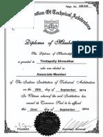 Shreedhar - Indian Institution of Technical Arbitrators
