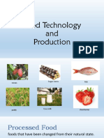 FoodTechnology and Production