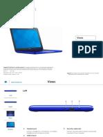 Inspiron 11 3162 Laptop Reference Guide en Us