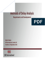 93-Methods of Delay Analysis Requirements and Developments