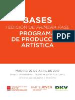Bases I Edici-n 'Primera Fase'