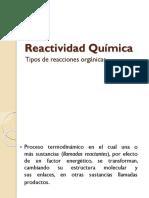 Reactividad-Química