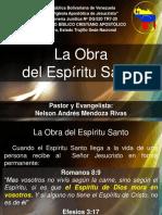 La Obra Del Espiritu Santo