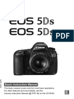 Canon 5Ds - Basic User Manual