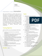 SQ007 DCO Software Test Automation