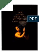 Scarlat Demetrescu - Din Tainele Vietii Si Ale Universului
