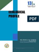 Agusan Ecological Profile