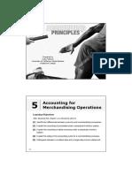 Accounting - Merchandising