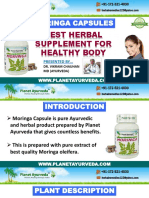 Moringa Oleifera Or Drumstick Tree - Health Benefits of Moringa Capsules