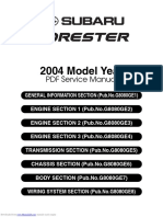 2004 Forester