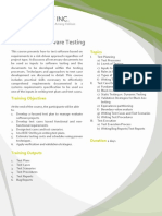 BA004 DCO Structured Software Testing