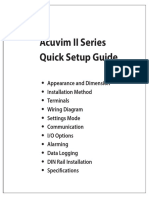 Acuvim II Quick Setup Guide (1040E3103)