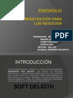 Examen ADMINISTRACIÓN PARA LOS NEGOCIOS ppt