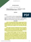 Alolino v. Flores, G.R. No. 198774, 2016