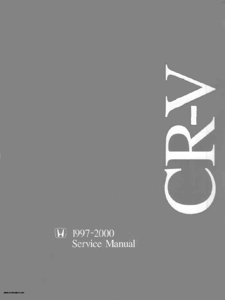 1997 2000 honda crv service manualpdf fandeluxe Images