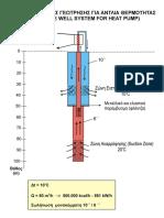 Εφαρμογή των γεωθερμικών αντλιών θερμότητας σε σύστημα μιας γεώτρησης και η συμβολή τους στην εξοικονόμηση ενέργειας