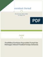 Presentasi Jurnal