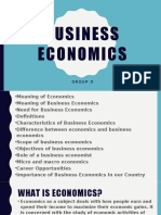 Business Economics Revised