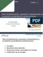 Tema 40 Fisiopatología 1