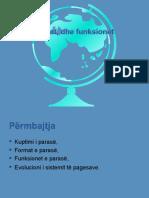 FUNKSIONET E PARASE