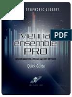 VSL ViennaEnsemblePRO Quickguide v1.1
