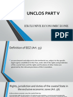 Unclos Part v - Report
