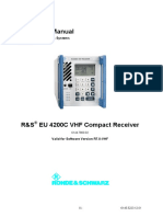 EU4200C Operating Manual