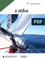 Informator 2017 - Studia MBA - Wyższa Szkoła Bankowa w Szczecinie