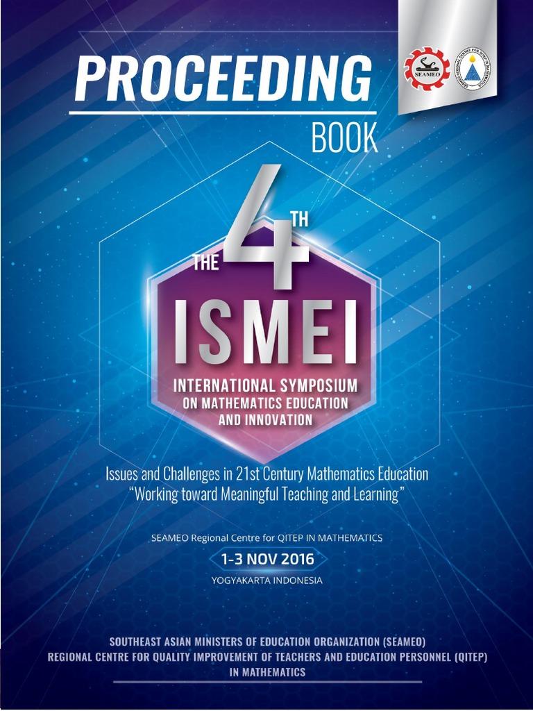 Proceeding 4th Ismei Final Mindset Memory