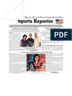July 11 -17, 2017  Sports Reporter