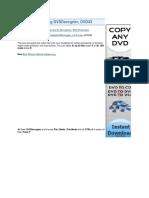 DVD Ripping DVDDecrypter