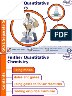 Further Quantitative Chemistry