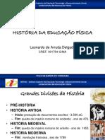 Aula01 Historia Geral Da Educacao Fisica