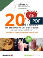 Carte de Retete Blend Active Pro_Culinar
