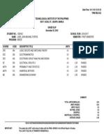 Grades 2nd Sem