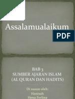 Presentasi Agama Bab 3