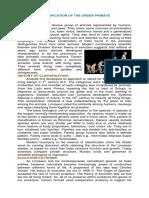 2.Classification of Primates