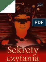 Sekrety Czytania - Katarzyna Szafranowska