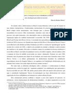 Abolicionismo e Formação Da Classe Trabalhadora No Brasil