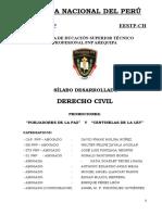 2016 - Silabo de Derecho Civil - Final