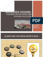 Socialized Housing in the Philippines Is