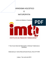 Paradigma Holístico e Naturopatia - Carlos Nunes