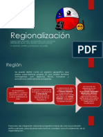 Regionalización de Chile