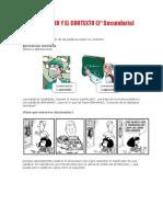 El Diccionario y El Contexto