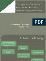 Journal Reading Chandra