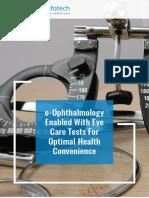 e Ophthalmology Application for Eye Care Tests Case Study Cygnet Infotech