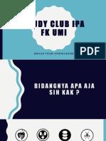 Study Club Ipa Blm Fix