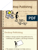 Desktop Publishing Basic Design Principles