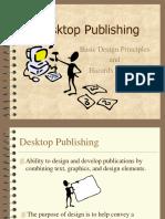 Desktop Publishing Basic Design Principles